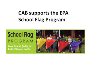 CAB Supports the EPA School Flag Program